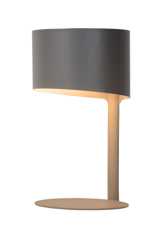 Lucide KNULLE Tafellamp E14 H28,5 D15cm Grijs