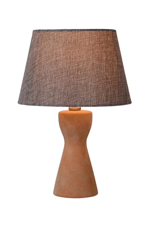 Lucide TURA Tafellamp E14 H32cm �20.5cm Taupe