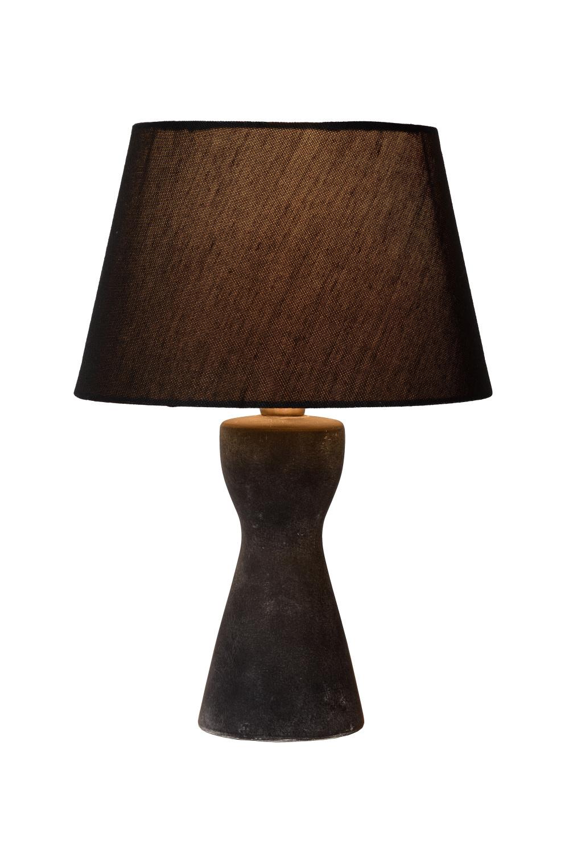 Lucide TURA Tafellamp E14 H32cm �20.5cm Zwart