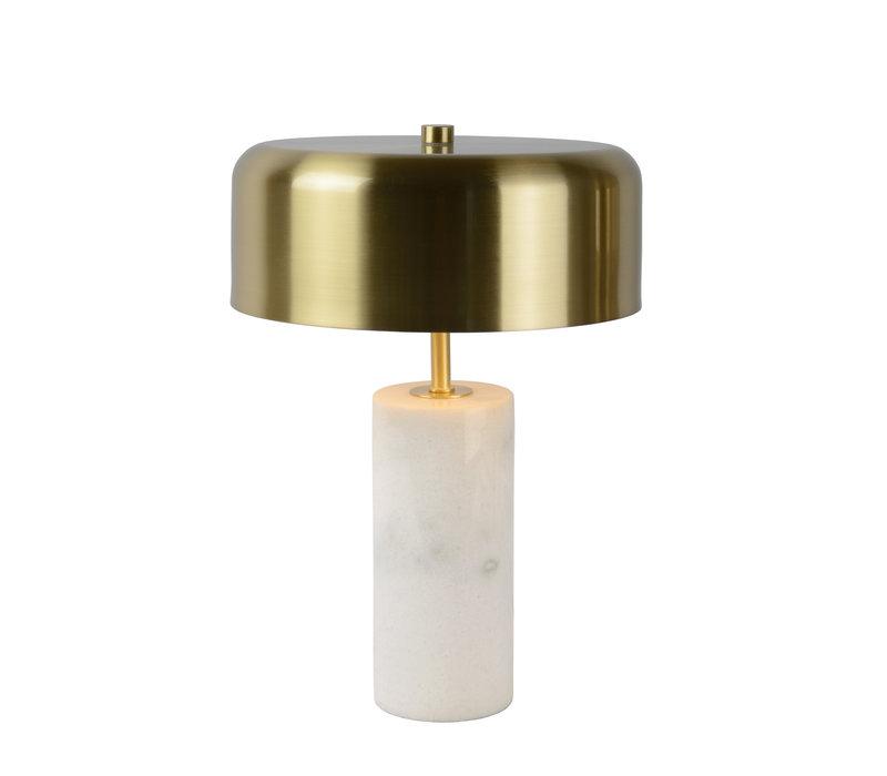 MIRASOL Tafellamp G9/3x7W Wit Marmer