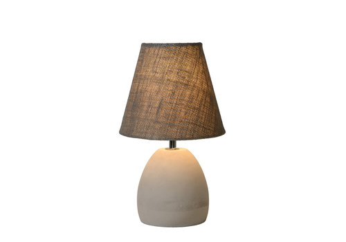 Lucide SOLO Tafellamp E14 H31cm Beton