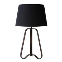 CAPUCINO Tafellamp E27 H64.4cm Roest Bruin
