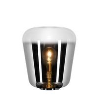 GLORIO Tafellamp E 27 Ø45cm H53cm  Chroom + Smokey