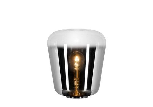 Lucide GLORIO Tafellamp E 27 Ø45cm H53cm  Chroom + Smokey