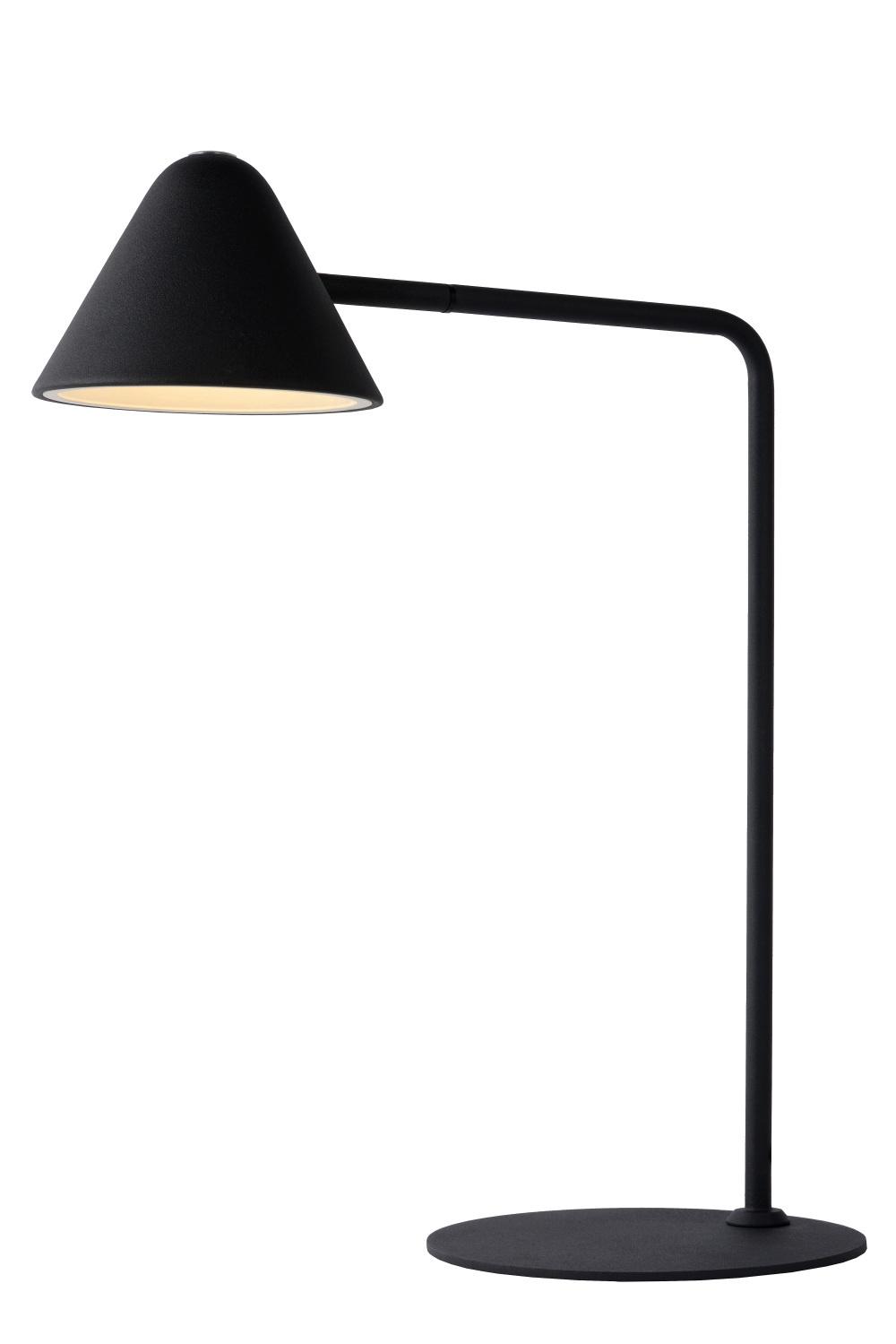 Lucide DEVON Tafellamp 3W / LED 48.5cm Zwart