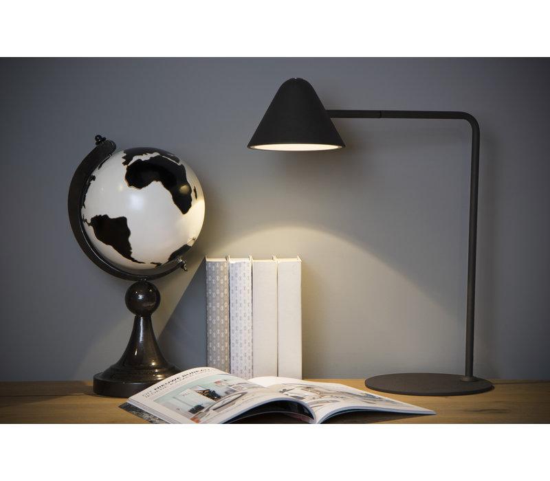 DEVON Bureaulamp 3W / LED 48.5cm Zwart