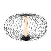 CARBONY Tafellamp LED 5W 2700K Zwart