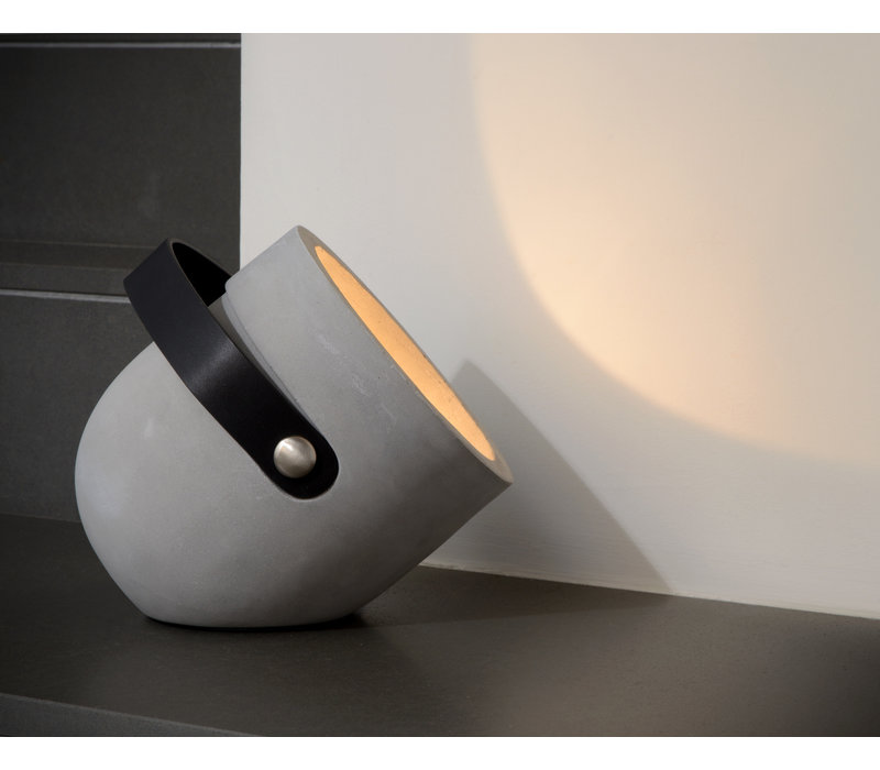 COPAIN Tafellamp E27  Beton H24cm Taupe