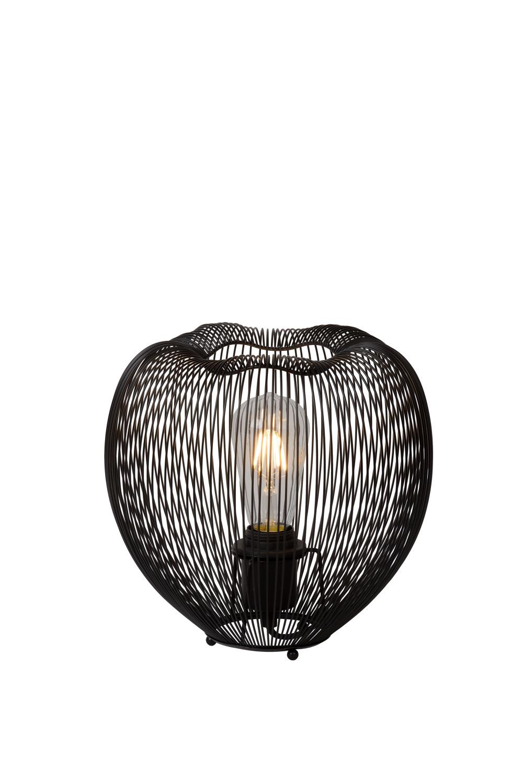 Lucide Wirio Tafellamp E27 H25 Ø26cm Zwart