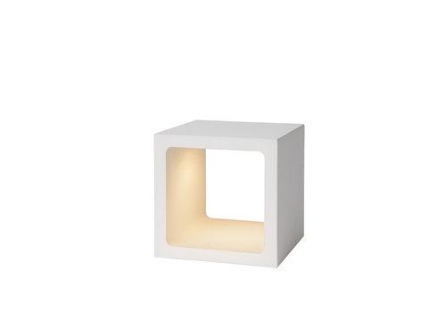 Lucide XIO Tafellamp-Wit-LED Dimb.-6W-3000K-IP40-Metaal