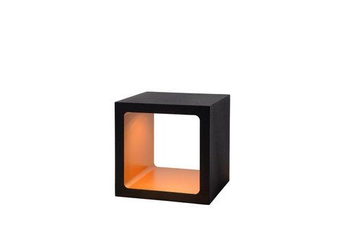 Lucide XIO Tafellamp-Zwart-LED Dimb.-9W-3000K-IP40-Metaal