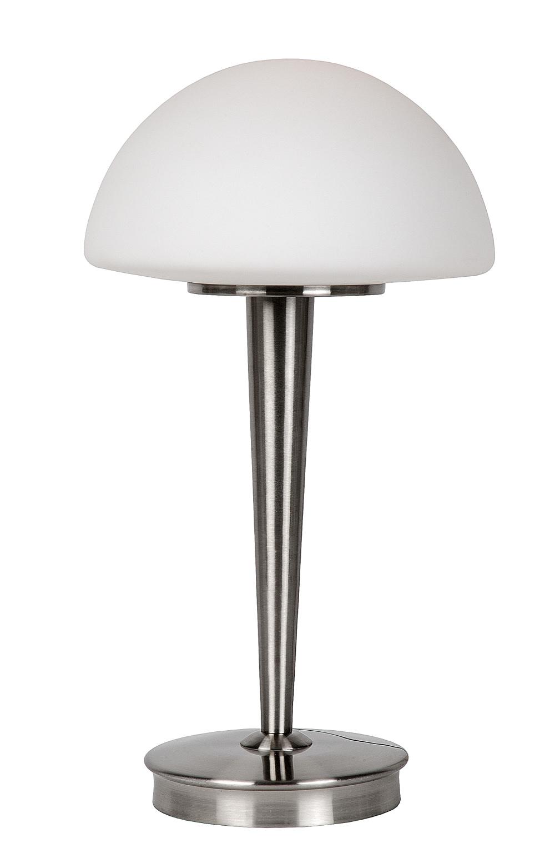 Lucide TOUCH Tafellamp-Mat ch.-Ø23-1xE14-40W-3 StepDim