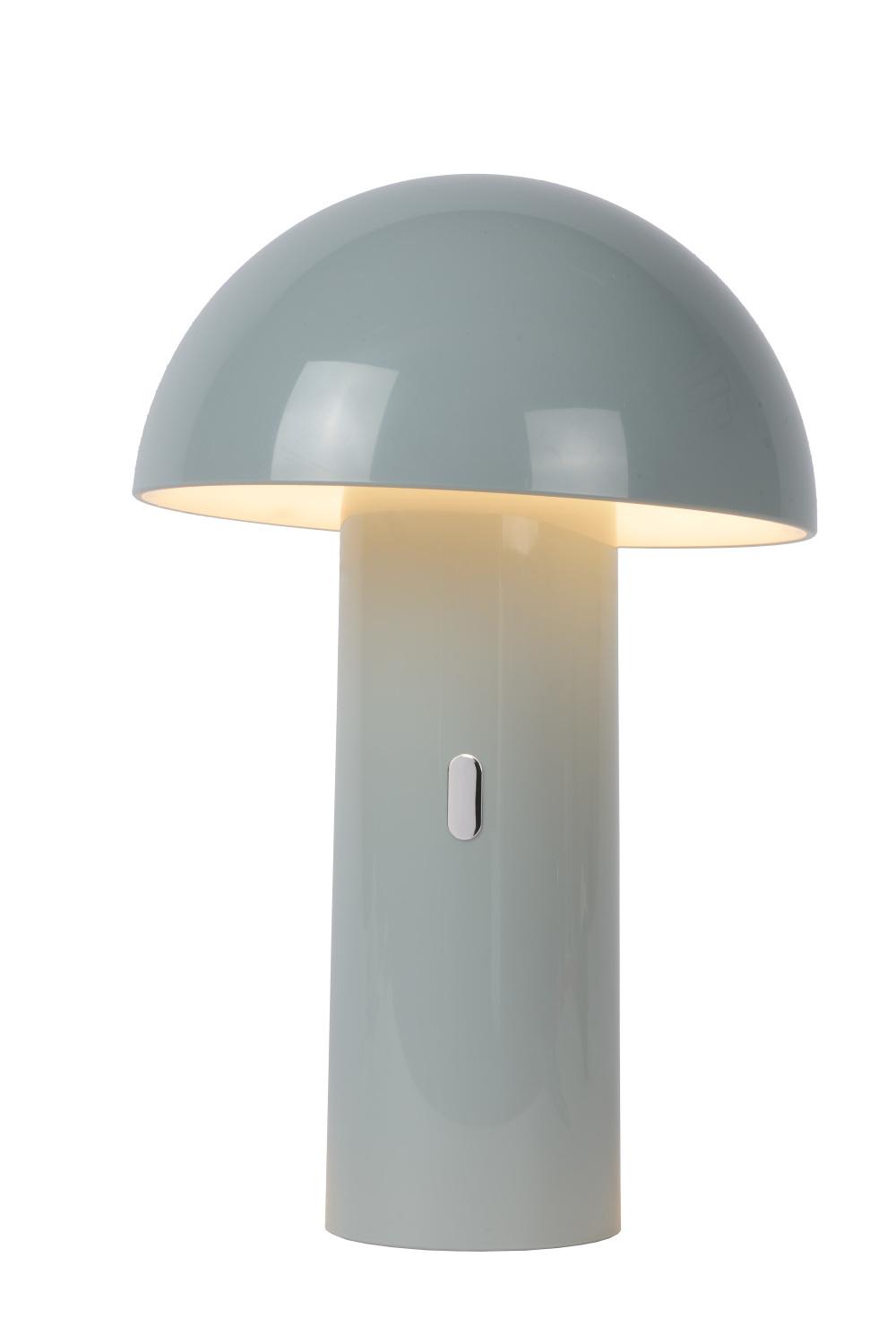 Lucide FUNGO Tafellamp LED 7.5W H25.5cm Grijs