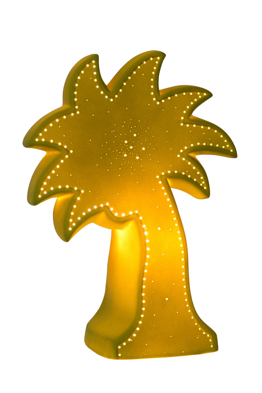 Lucide PALM Tafellamp E14/25W H26.3 Groen