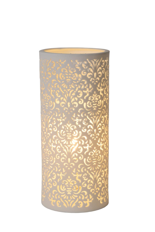 Lucide KANT Tafellamp Keramiek E14 H28 �12cm Wit