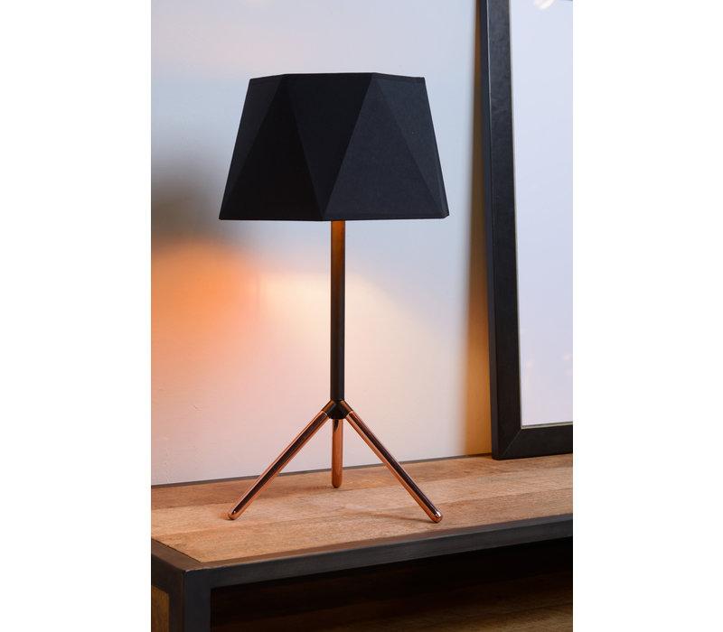 ALEGRO Tafellamp E14 Ø32cm H57cm Zwart