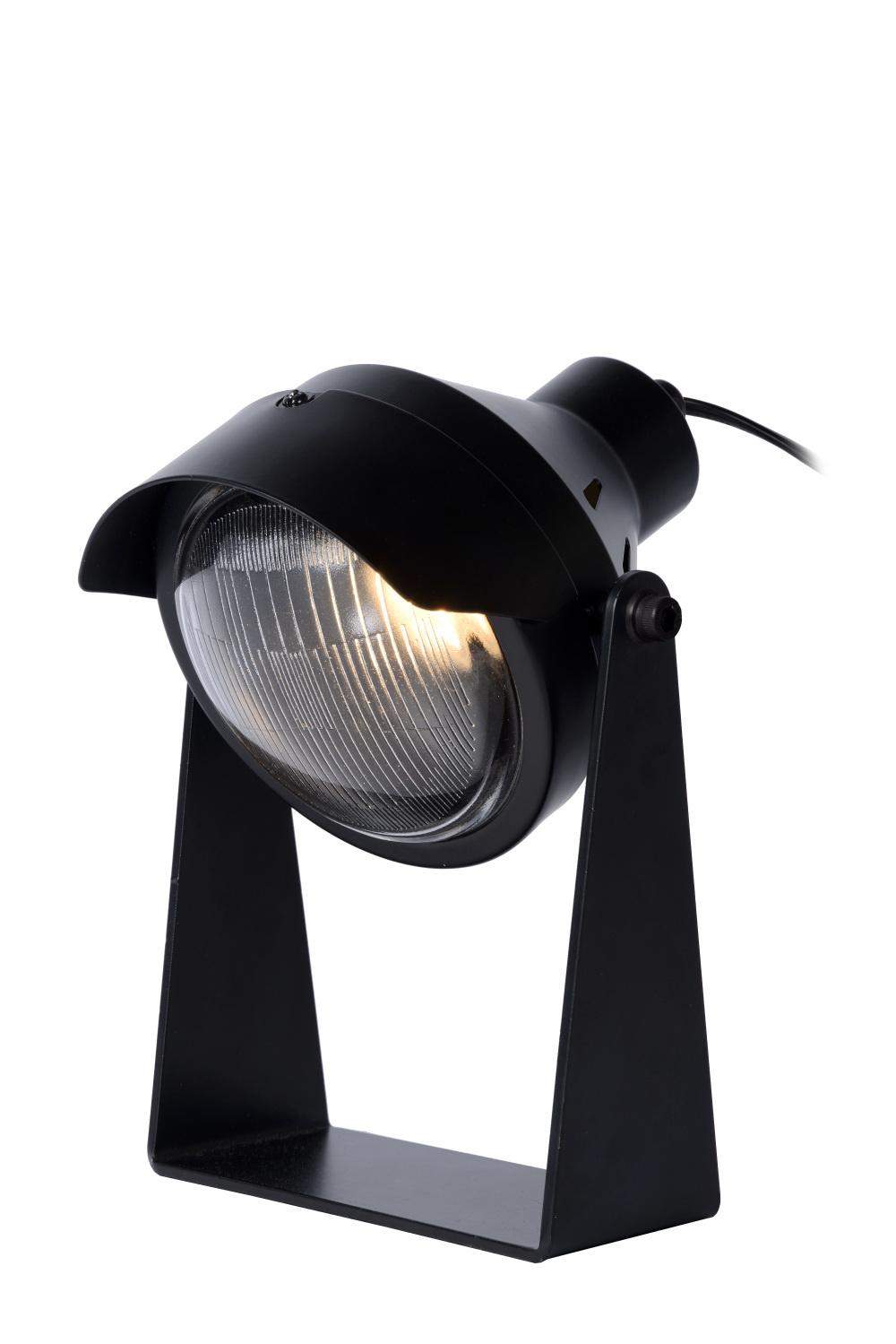 Lucide CICLETA Tafellamp-Zwart-1xGU10-35W-Staal