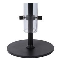 LONE Tafellamp G9/28W Smoke glas/zwart