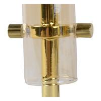 LONE Tafellamp G9/28W Amber glas/ Messing