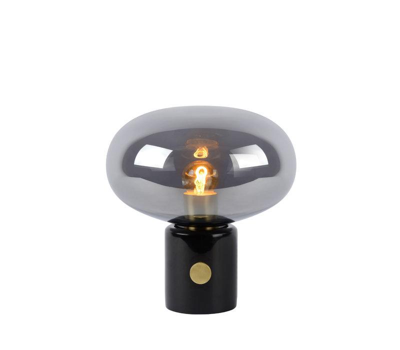 CHARLIZE Tafellamp E27/40W Smoke glas/Zwart  Marme