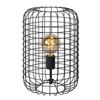 ESMEE Tafellamp-Zwart-Ø26-1xE27-60W-Metaal