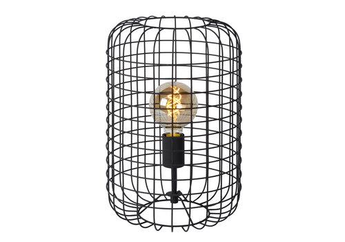 Lucide ESMEE Tafellamp 1xE27 60W Ø26cm  H40cm Zwart