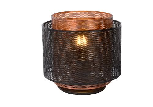 Lucide ORRIN Tafellamp E27 Ø25 Zwart