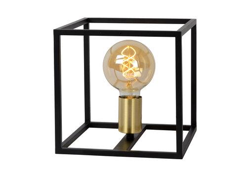 Lucide RUBEN  Tafellamp 1x E27 40W Zwart / mat goud