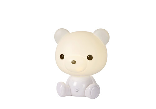 Lucide DODO Bear Tafellamp LED 3W H25cm Wit