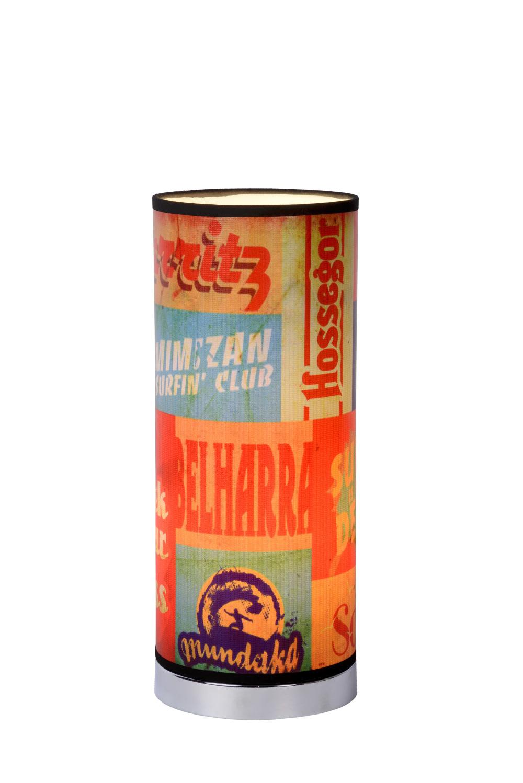 Lucide CHE Tafellamp E14 H36 D15cm Multicolor