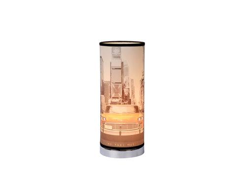 Lucide N.Y. TAXI Tafellamp E14 H36 D15cm Multicolor