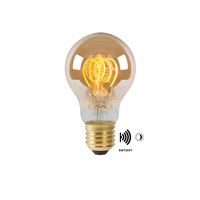 LED BULB TWILIGHT SENSOR A60E27/4W AMBER