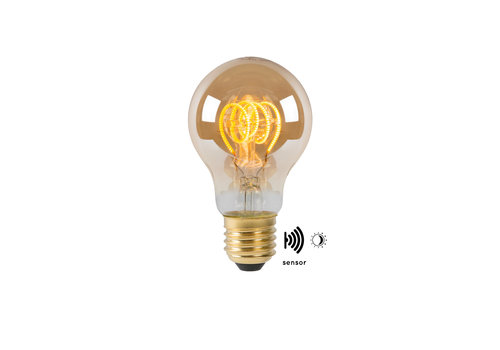Lucide A60 TWIL. Fil. lamp Buiten-Amber-LED-1xE27-4W