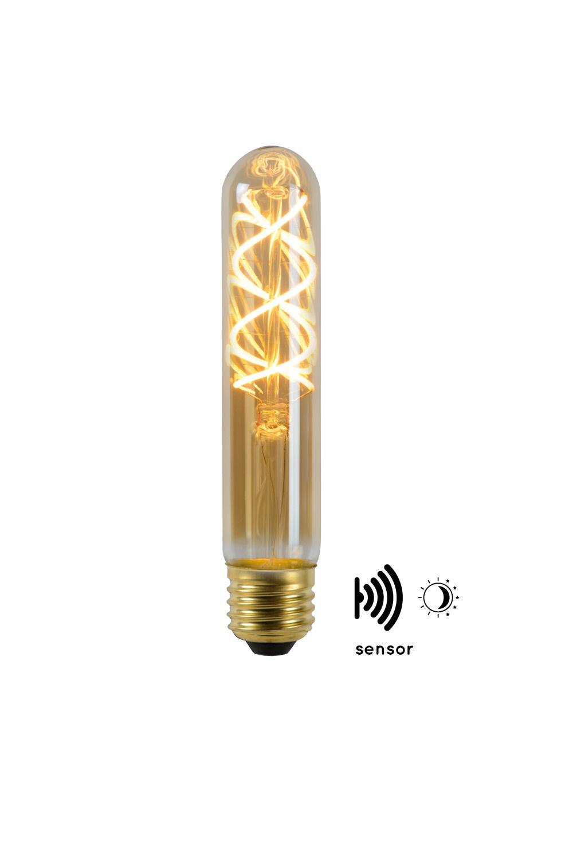 Lucide LED BULB TWILIGHT SENSOR T30 E27/4W AMBER