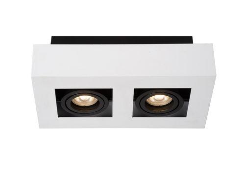 Lucide XIRAX Plafondspot-Wit-LED DTW-2xGU10-5W