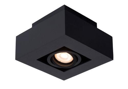 Lucide XIRAX Plafondlicht 1xGU10/5W LED DTW Zwart