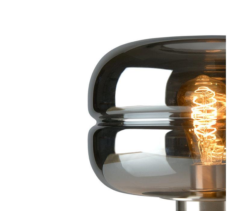 Vloerlamp Havanna rookglas