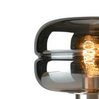 Tafellamp Havanna medium rookglas