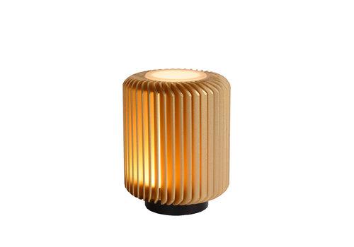 Lucide TURBIN Tafellamp LED 5W H13.7 Ø10.6 Mat Goud