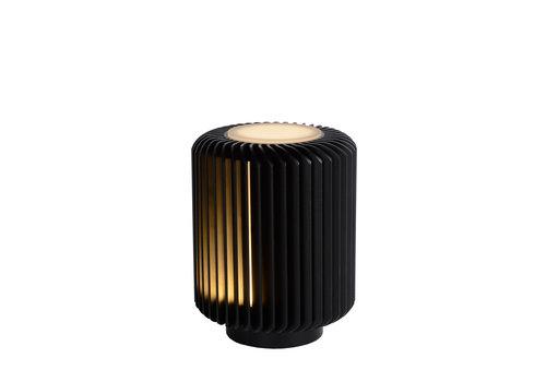 Lucide TURBIN Tafellamp-Zwart-Ø10,6-LED-5W-3000K-Alumin.