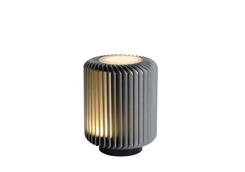Lucide TURBIN Tafellamp LED 5W H13.7 Ø10.6 Donker Grijs