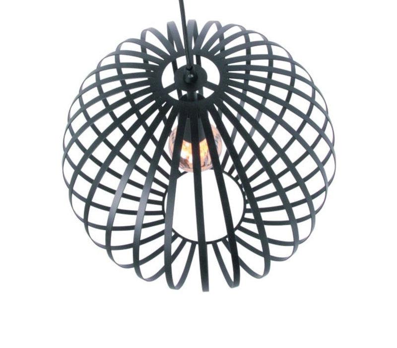 Hanglamp Tres 50 cm zwart