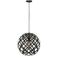 Hanglamp Emma 40 cm bol zwart