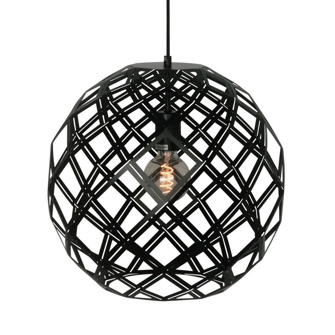 Freelight Hanglamp Emma 40 cm bol zwart