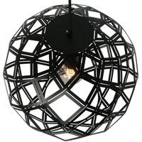 Hanglamp Emma 50 cm bol zwart