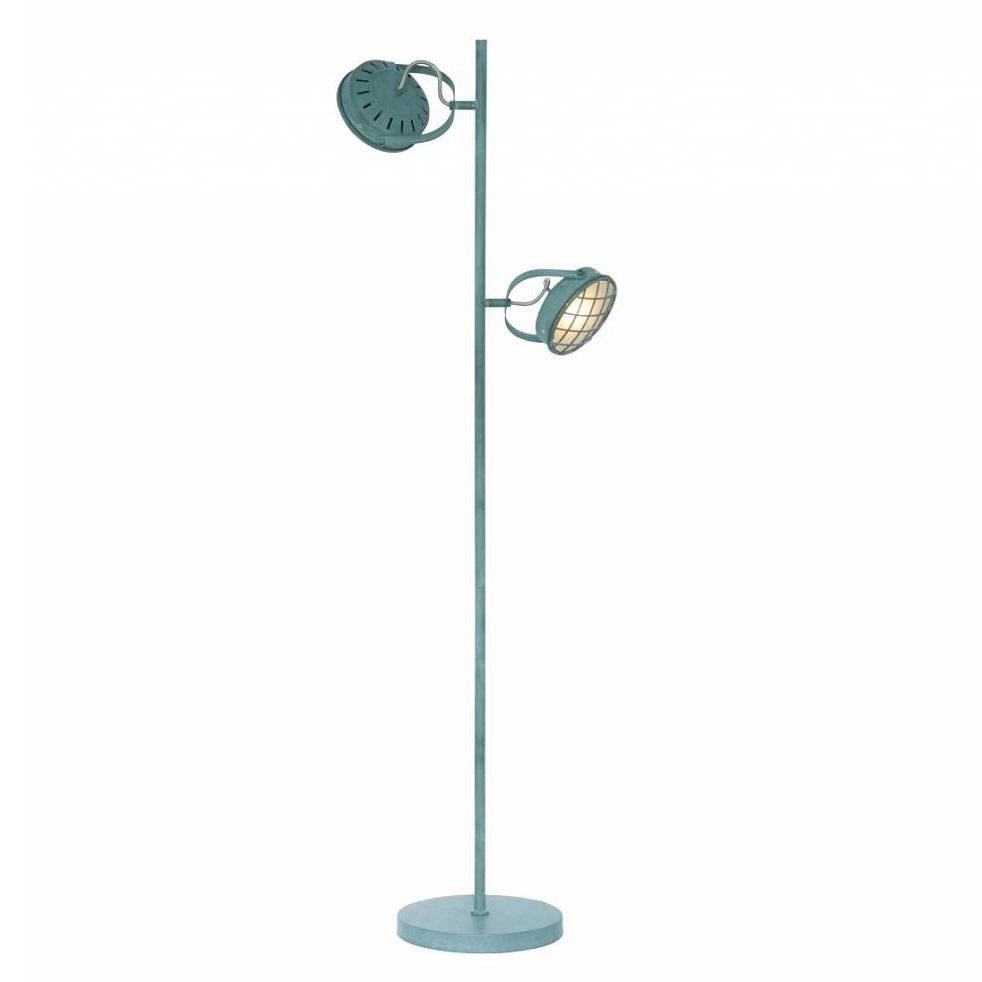 Freelight Vloerlamp Lazaro 2 lichts grijs