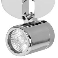 Spot Rain 1 lichts IP44 chroom