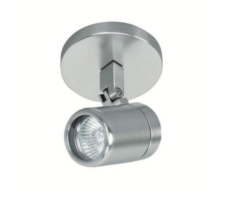 Spot Rain 1 lichts IP44 mat chroom