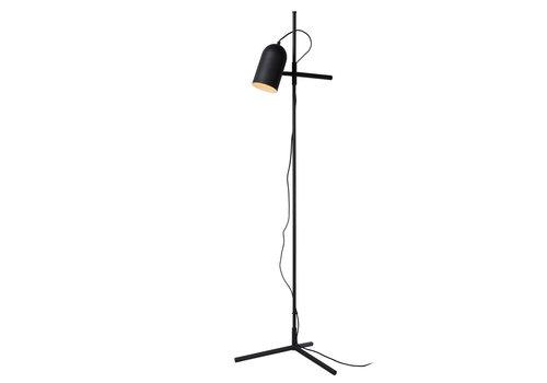 Lucide EDEK Vloerlamp E27/40W Zwart