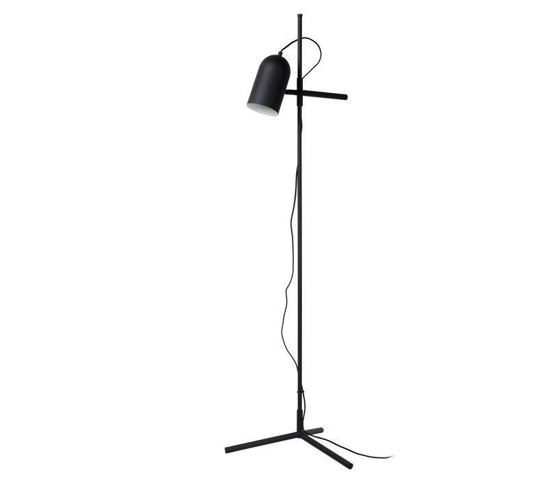 EDEK Vloerlamp E27/40W Zwart